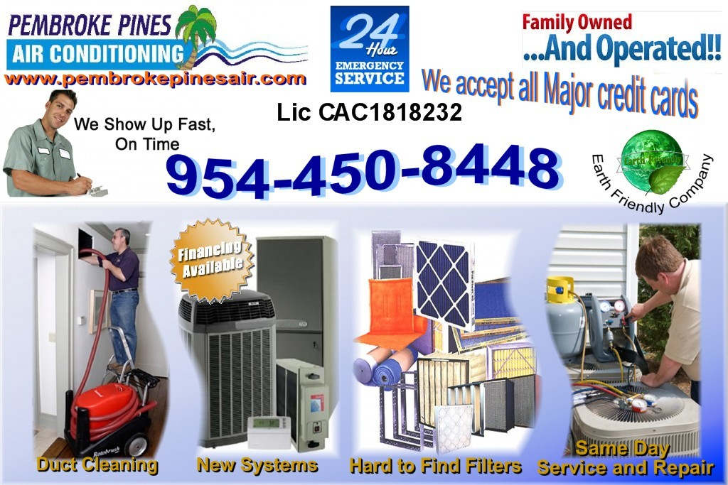Pembroke Pines Air Conditioning Heating Air Conditioning Hvac In Pembroke Pines
